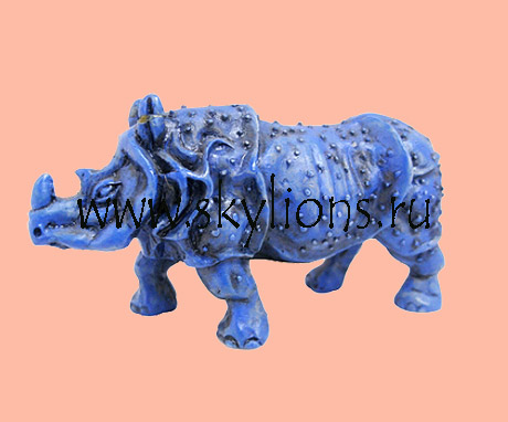 Животные фэншуй gt gt синий носорог